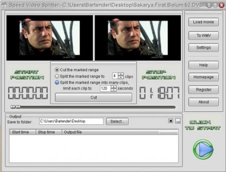 Speed Video Splitter v4.3.41