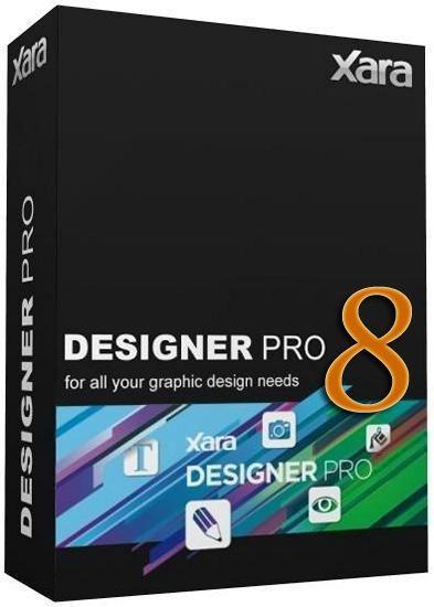 Xara Designer Pro X 8.1.1.22437 (2012) - обработка и создание графики