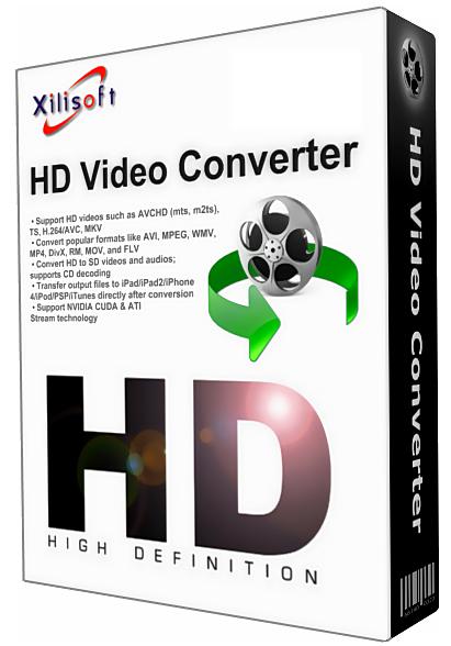 Конвертор видео - Xilisoft HD Video Converter 6.7.0.913