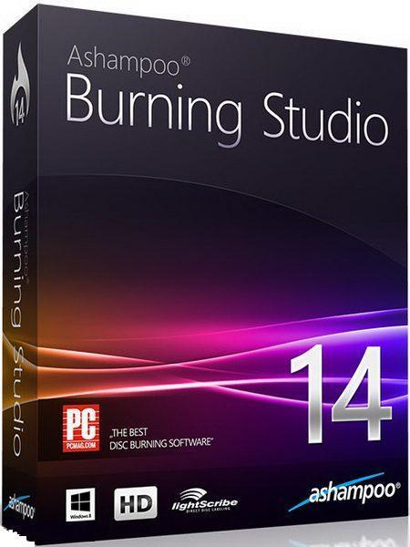 Ashampoo Burning Studio 14 14.0.3.12 Final (2014) РС + RePack & Portable - запись видео файлов