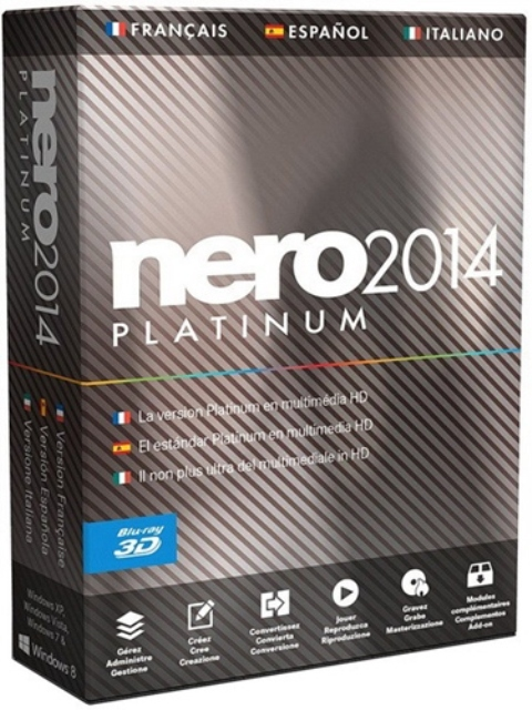 Nero 2014 Platinum 15.0.07700 RePack by D!akov [MULTi/Rus]