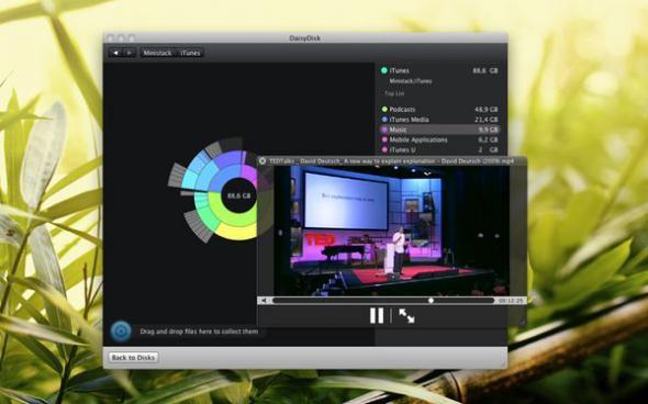 DaisyDisk 2.0.6 для Mac OSX