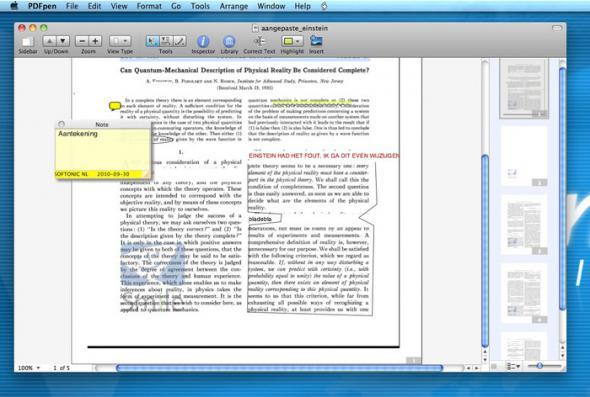 скачать PDFpenPro 5.6.2 для Mac OS X