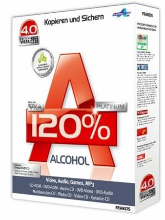 Alcohol 120% 2.0.1 Build 2033 Retail XCV Edition Rus \ EN