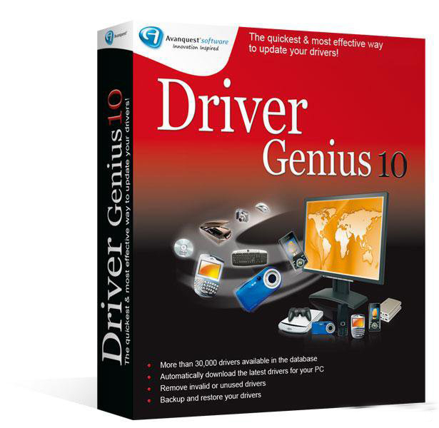 Driver Genius Professional 10.0.0.712 Crack + Portable