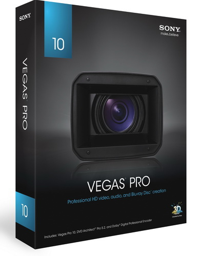 Sony Vegas Pro 10.00.469 Rus (тихая установка)