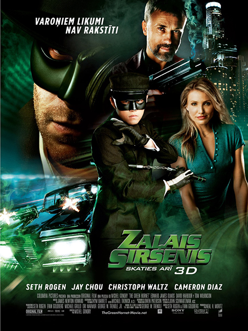 Фильм: Зеленый Шершень / The Green Hornet (2011)