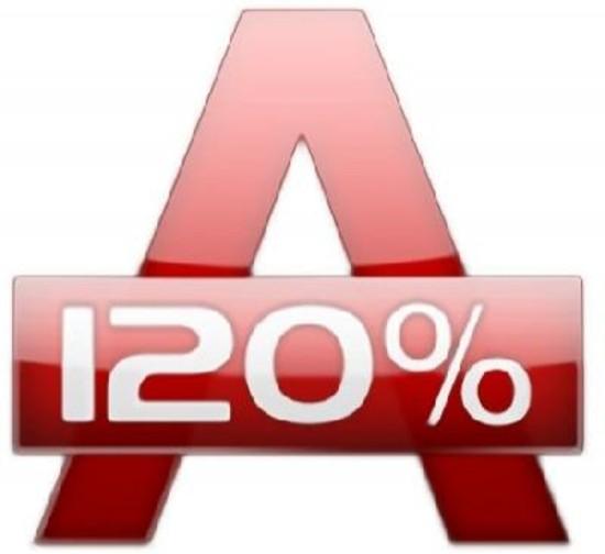Alcohol 120% 7.0 - создает виртуальные диски и образы CD/DVD