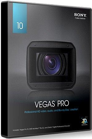 Sony Vegas Pro 10.0a Build 387 x86
