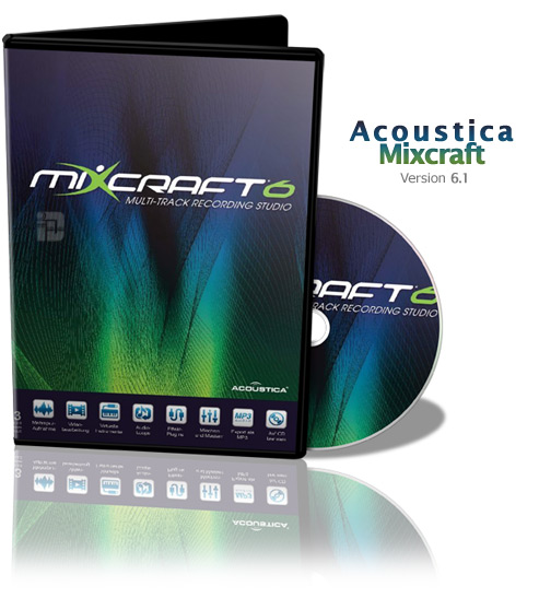 Acoustica Mixcraft 6.1 Build 204 Portable [Мульти/Русский]