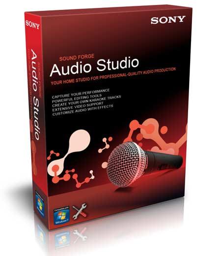 скачать Sony Sound Forge Audio Studio 10.0 Build 177 - звуковой редактор