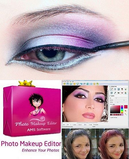 Photo makeup editing