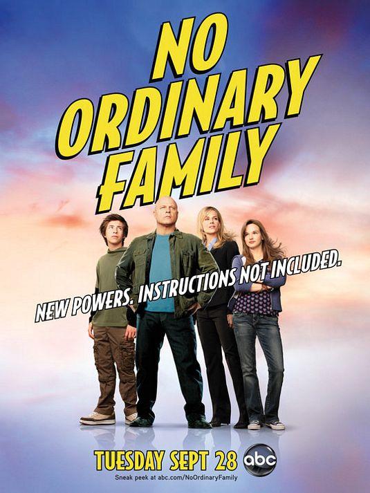 Сериал: Необычная семья  / No Ordinary Family (2010) 1 сезон: 1-10 серии из 22