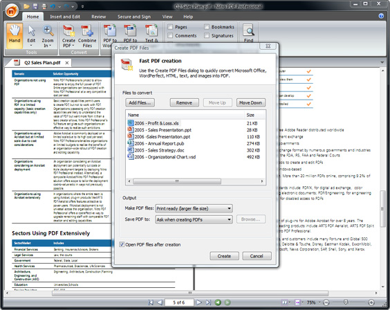 Nitro PDF Professional 8.5.5.2 х86 / х64 - работа с PDF файлами