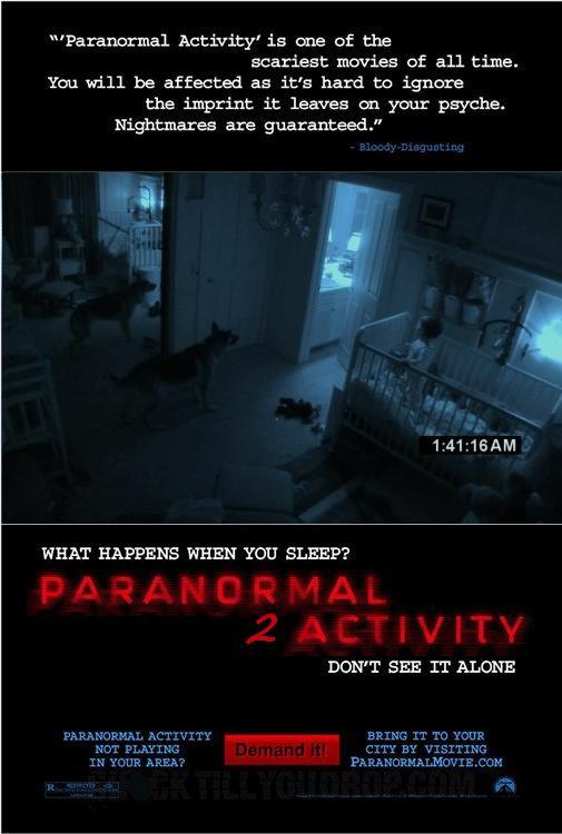 Паранормальное явление 2 / Paranormal Activity 2
