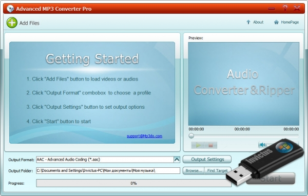 Advanced MP3 Converter Pro 1.1 Portable