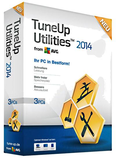 TuneUp Utilities (тюн ап) 2014 v14.0.1000.340 RePack