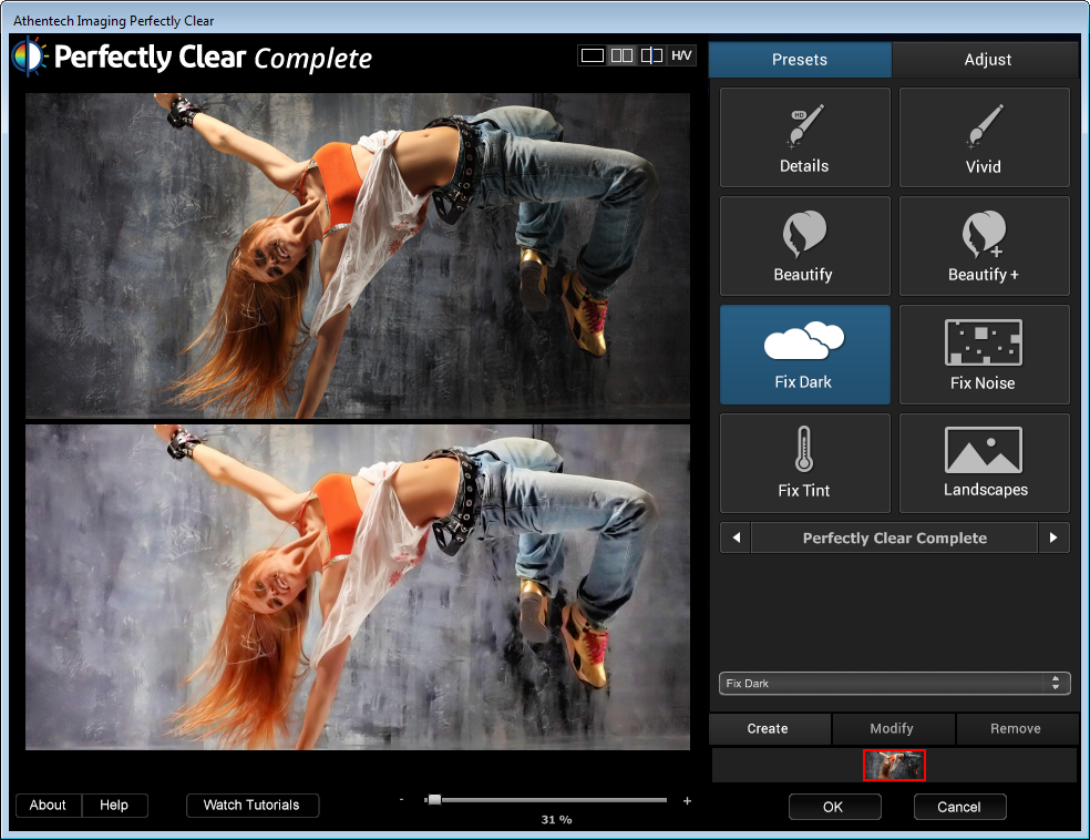 скачать Athentech Perfectly Clear Photoshop Plug-in 2.2.5