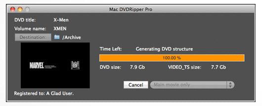 скачать Mac DVDRipper Pro 2.1 для Mac OS X