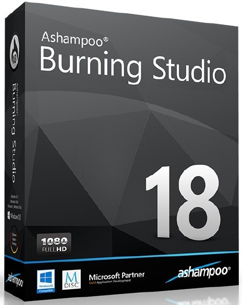 скачать Ashampoo Burning Studio 18.0.8.1 Final - для записи CD-RW, DVD-RW, DVD RW и Blu-ray дисков