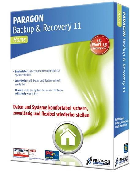 Paragon Backup and Recovery 11 10.0.17.13783 Compact + Recovery CD