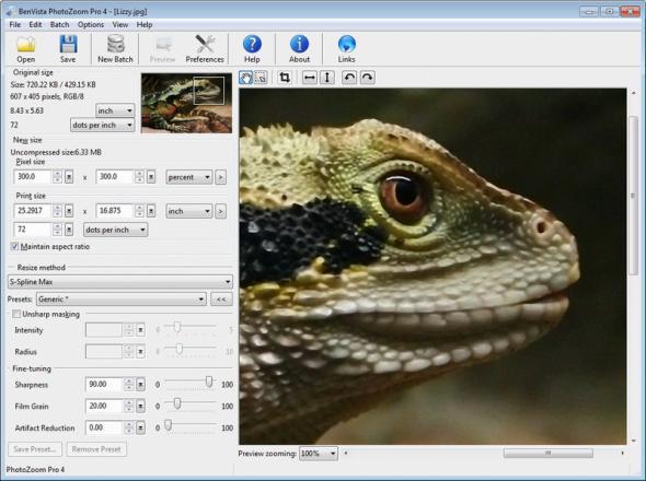 Benvista PhotoZoom Pro v 4.1.4.0 Final RePack Portable