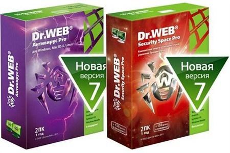 Dr.Web v7.0 Antivirus/Security Space Offline Update + Rus - обновления для Dr.Web