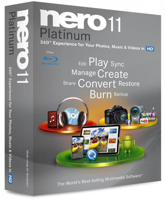 Nero 11 Platinum HD v 11.2.00700 Multilingual Retail