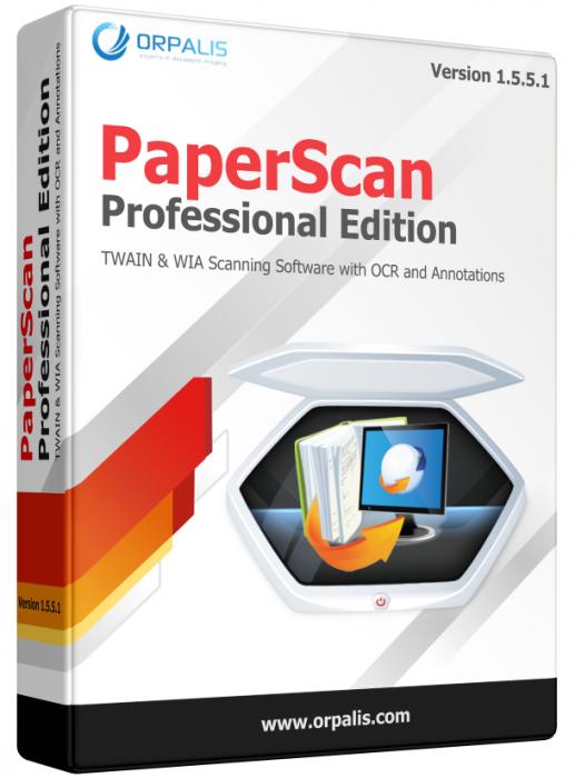 PaperScan 1.5.5.1 Professional Edition - для сканирования