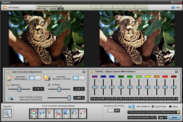 PhotoEQ 1.1.5.0 - обработка фото
