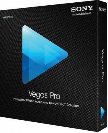SONY Vegas Pro 13.0 Build 444 (тихая установка) RePack - обработка видео