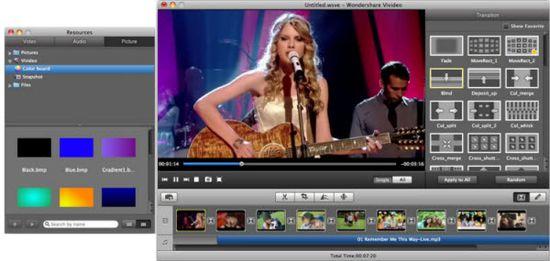 Wondershare Vivideo 2.0.2 для Mac OS X