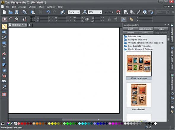 Xara Designer Pro X v 8.1.1.22437 RePack - создание web-графики