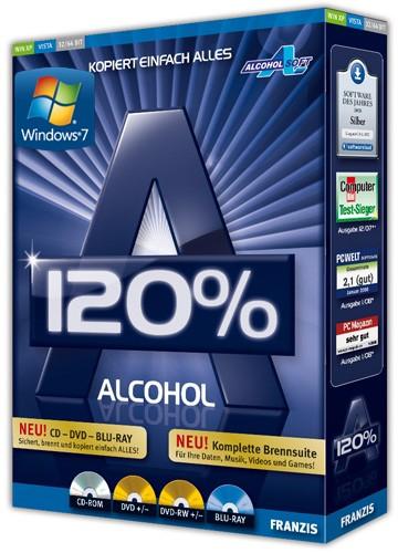 Alcohol (алкогол) 120 Version 2.0.1 Build 2033 Rus - CD/DVD диски и виртуальные дисководы