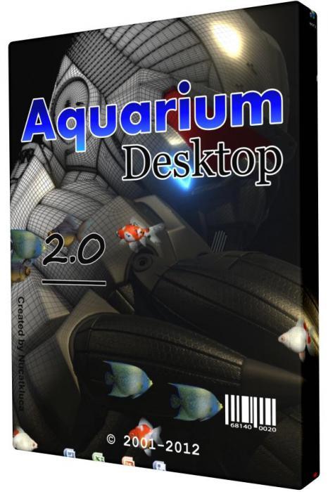 скачать Aquarium Desktop v 2.0 - скринсейвер аквариум