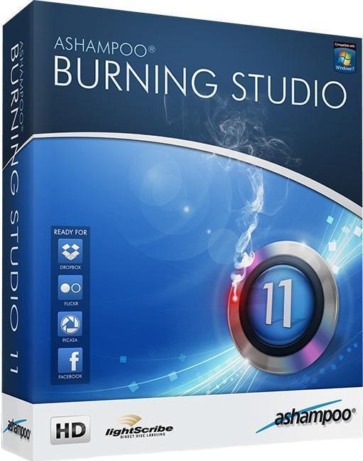 Ashampoo Burning Studio 11 Version 11.0.4 - для записи данных на CD, DVD и Blu-Ray диски