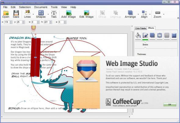 CoffeeCup Web Form Builder 1.2 - для создания невероятных HTML веб-форм