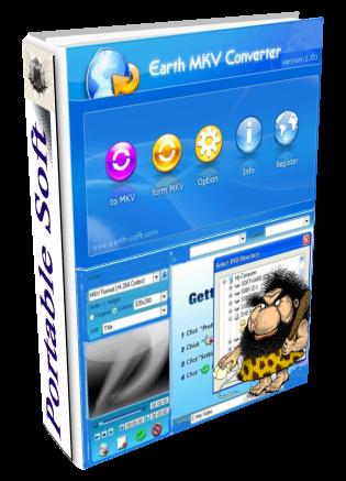 Earth MKV Converter 1.0 Portable - конвертировать любые видео файлы в MKV