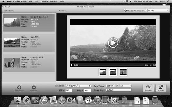 скачать HTML5 Video Player 1.0 для Mac OS X