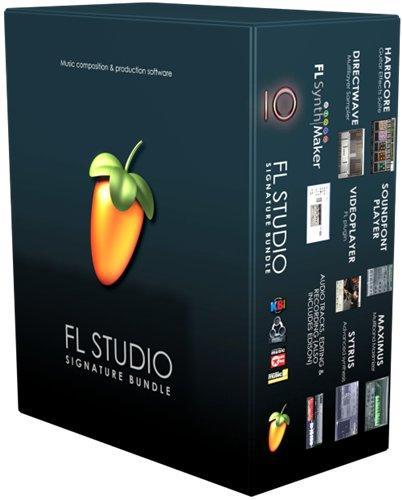 скачать Image-Line - FL Studio 10 Signature Bundle (2012) PC - для создания музыки и все синтезаторы и эффекты Image-Line