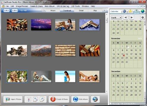 JetPhoto Studio Pro v 4.12 Portable - для хранения, организации, просмотра цифровых фотографий