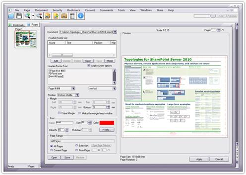 PDFCool Studio v 2.80 Build 120518 - для создания, редактирования, кодирования и преобразования PDF-документов
