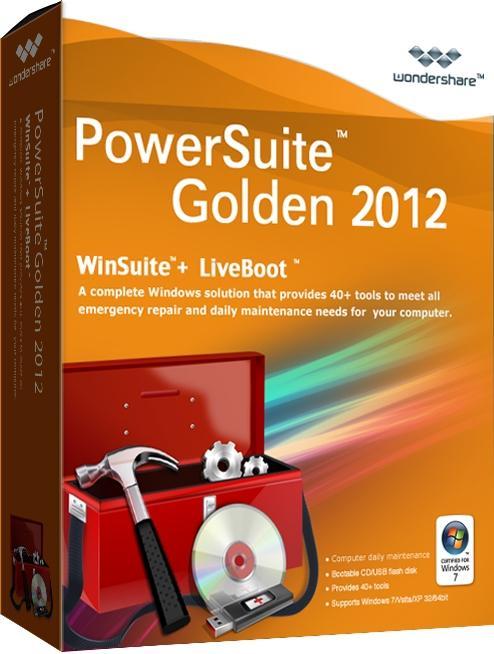 Spotmau PowerSuite Golden Edition 2012 V.7.0.1.3 - набор инструментов для оптимизации, настройки пк