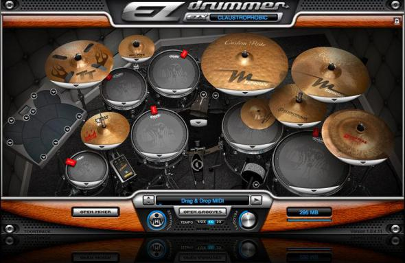 Toontrack EZdrummer 1.3.1 & EZX Collection
