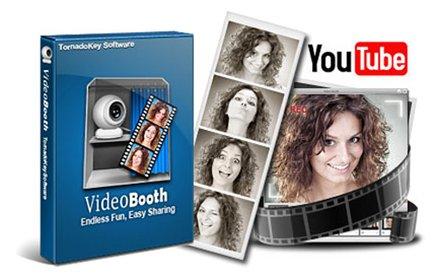 Video Booth Pro 2.4.1.8 - снимок своего лица или небольшой видеоролик о себе