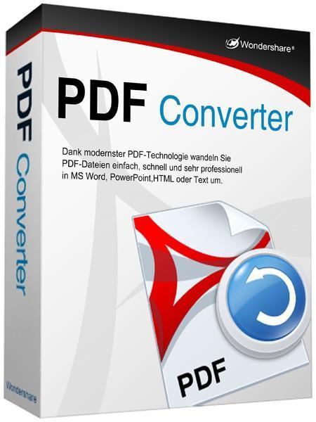 Wondershare PDF Converter Pro 2.6.1.4 x86 (2011) ENG + RUS - конвертор PDF