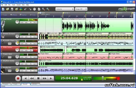 Acoustica Mixcraft 4.15 лекарство