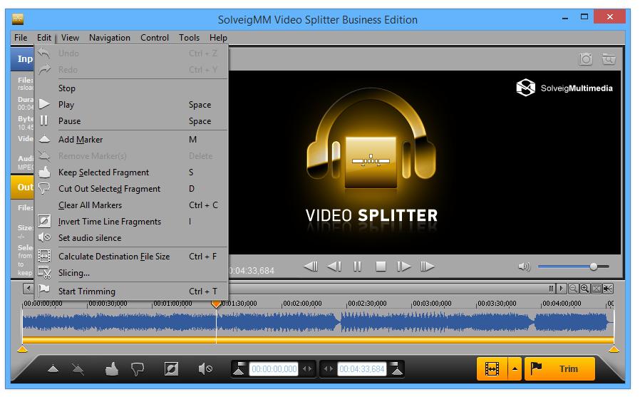 SolveigMM Video Splitter v.3.0.1112.7 Beta /rus
