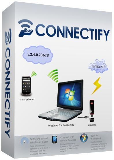 Connectify Pro 3.4.0.23678 - точку доступа Wi-Fi на вашем ПК
