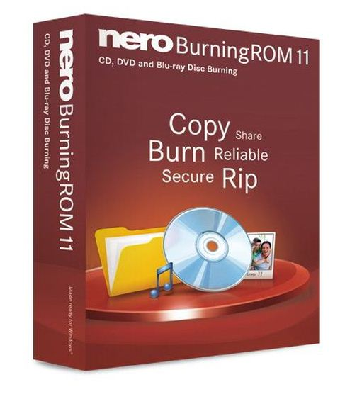 скачать Nero Burning ROM v 11.2.4.100 Portable